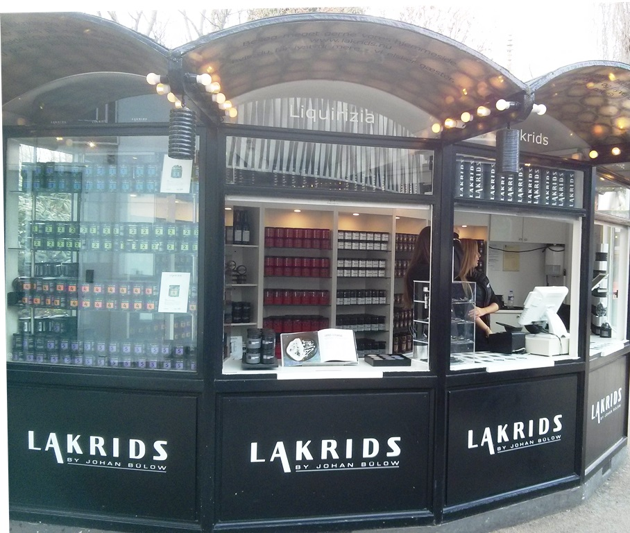 Drop van Lakrids in Tivoli, Kopenhagen