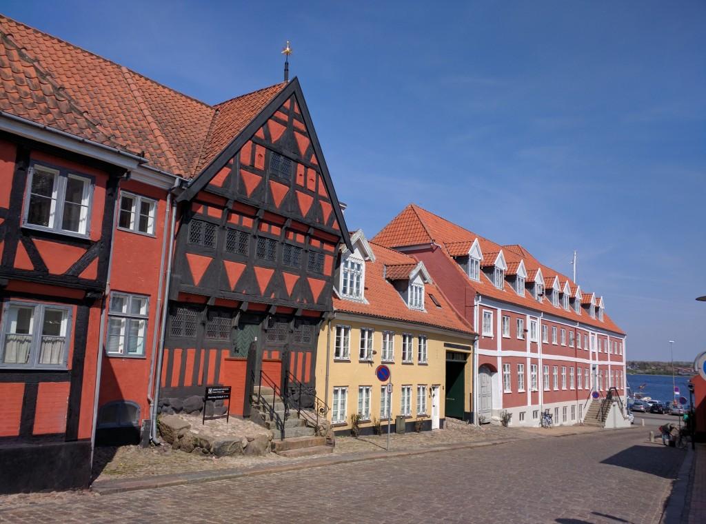 Henner Friisers Hus in Middelfart, Denemarken