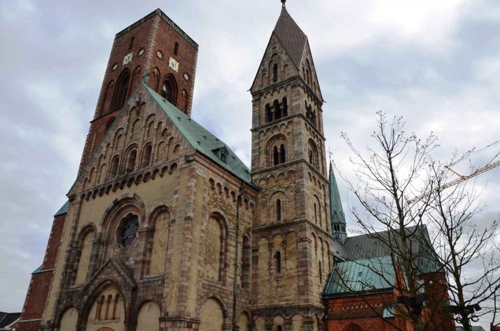 Domkerk Ribe buitenkant