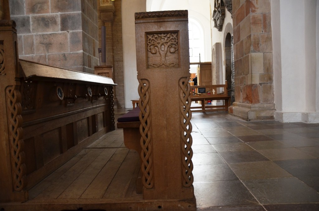 Domkerk Ribe houtsnijwerk