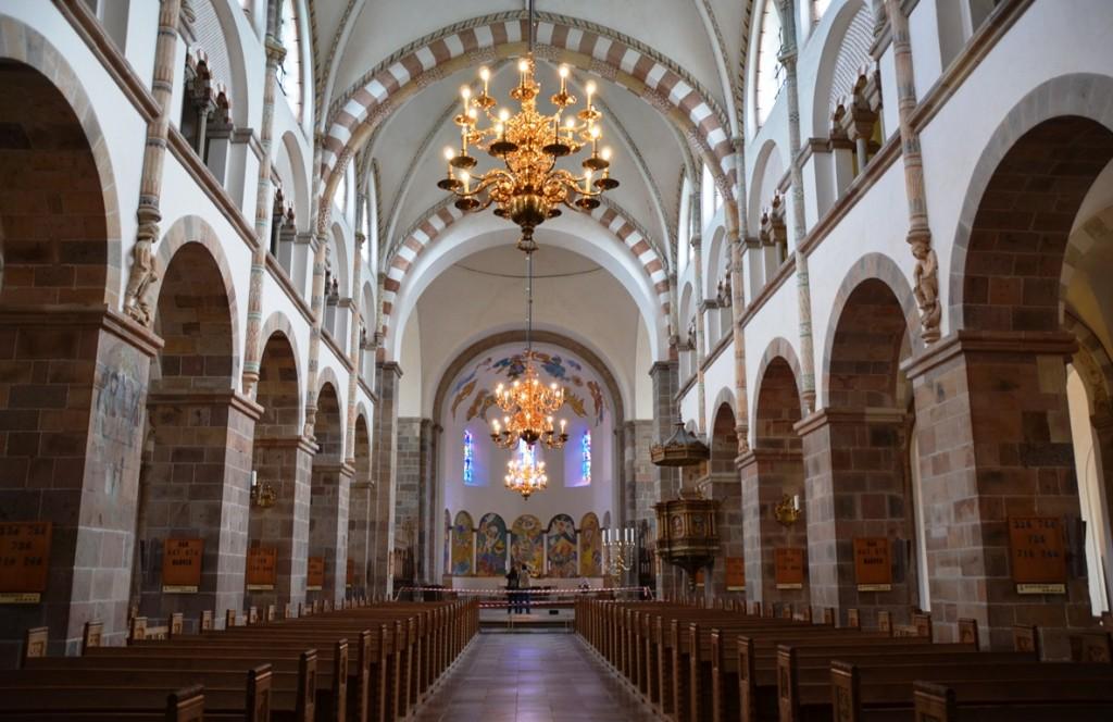 Domkerk Ribe kerkbanken