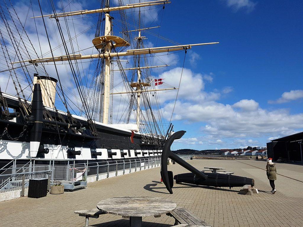 Fregatten Jylland in Ebeltoft