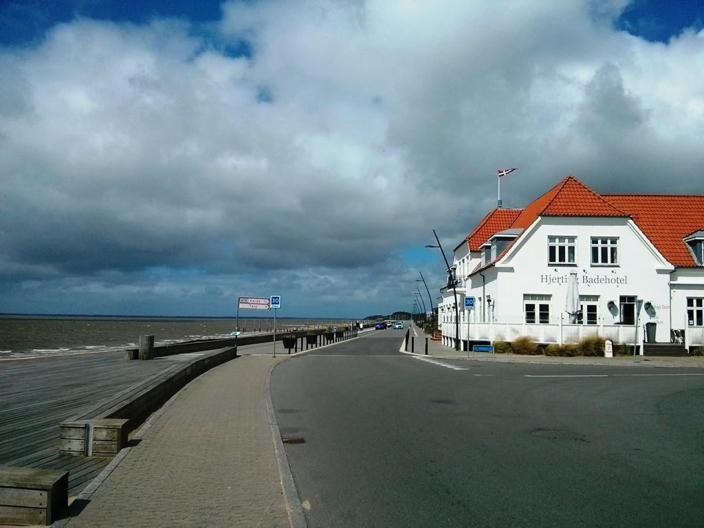 De boulevard van Hjerting