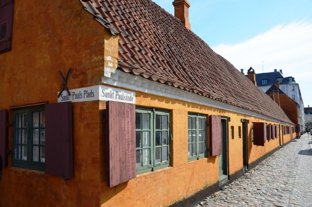 Kopenhagen oranje huisjes