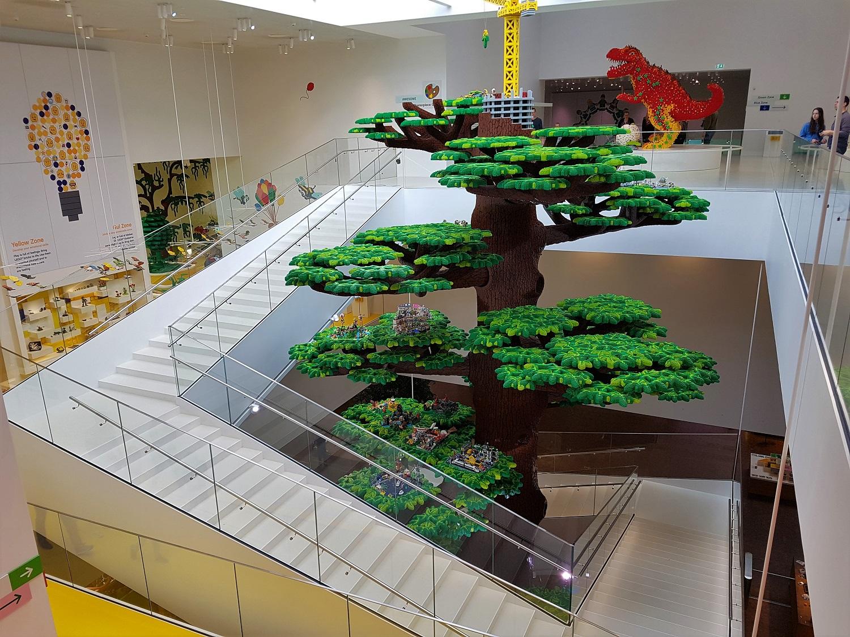 Lego House in Billund, Denemarken