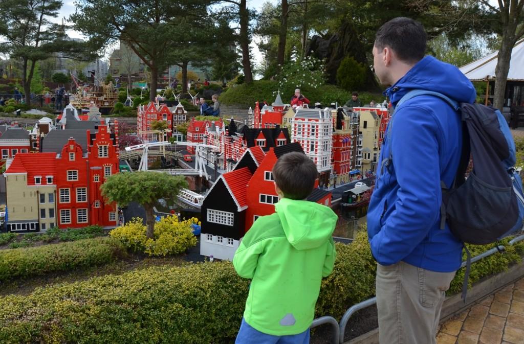 stukje Amsterdam in Legoland