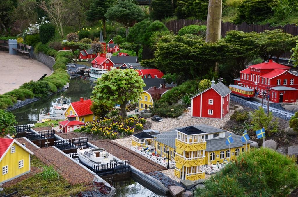 Götakanal in Legoland