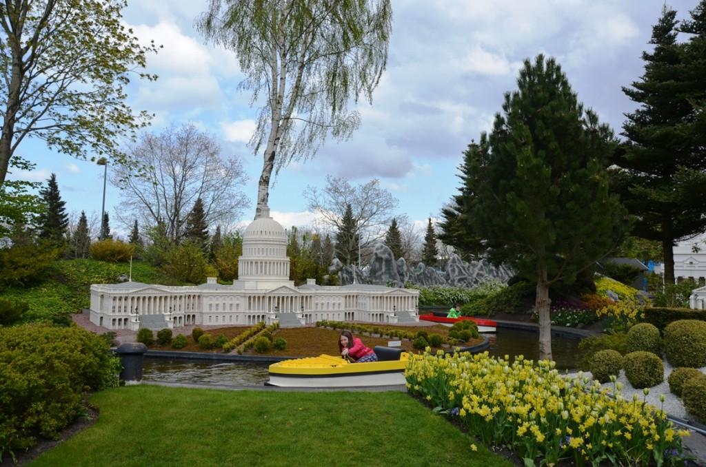 Witte Huis in Legoland