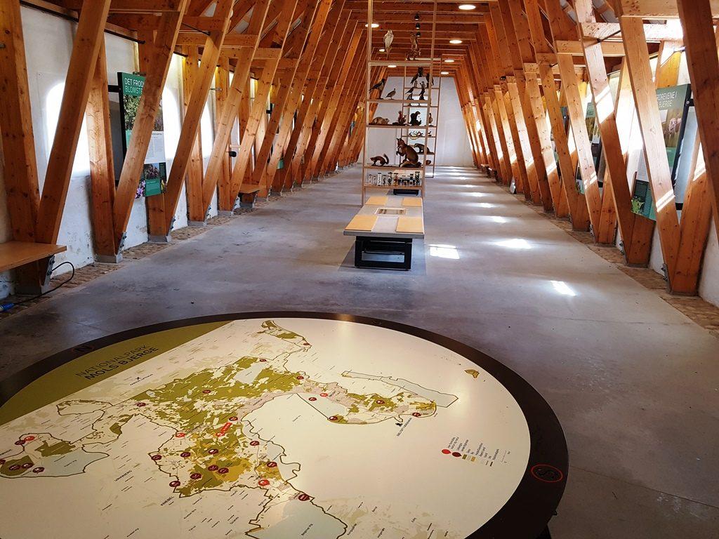 Bezoekerscentrum in Mols Bjerge, Djursland, Denemarken