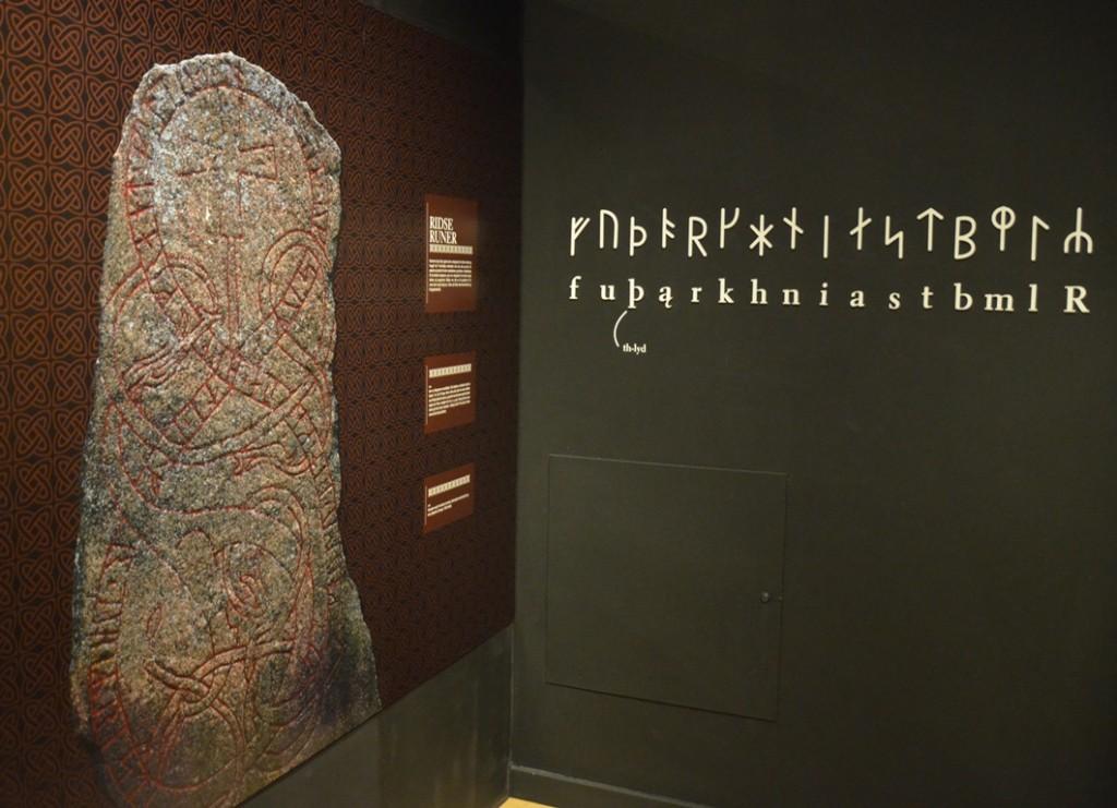 Museum Ribes Vikinger runensteen