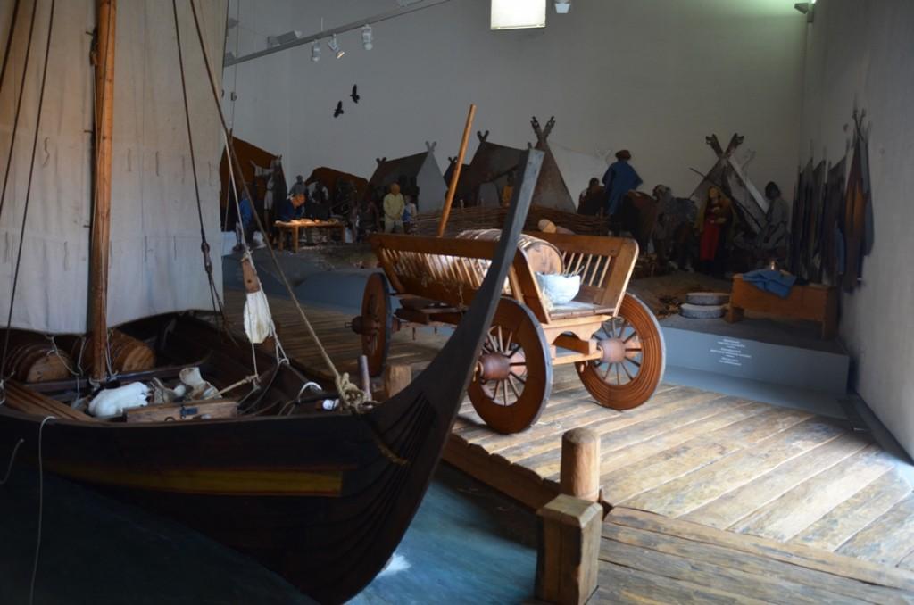 Museum Ribes Vikinger vikingboot