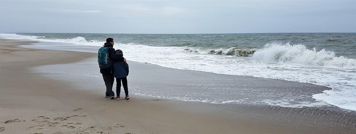 Nymindegab Strand in Denemarken
