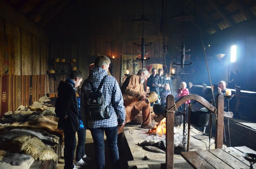 Ribe Vikingecenter langhuis