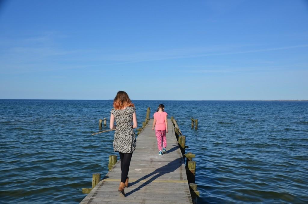 Strand bij onze vakantiewoning in Denemarken