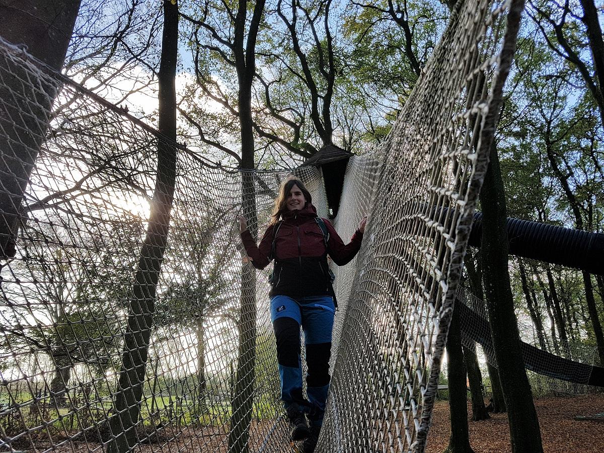 wandelbroek RevolutionRace in WOW-Park