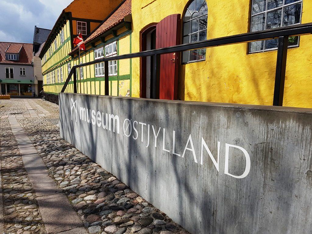 Museum Ostjylland in Grenaa, Djursland, Denemarken