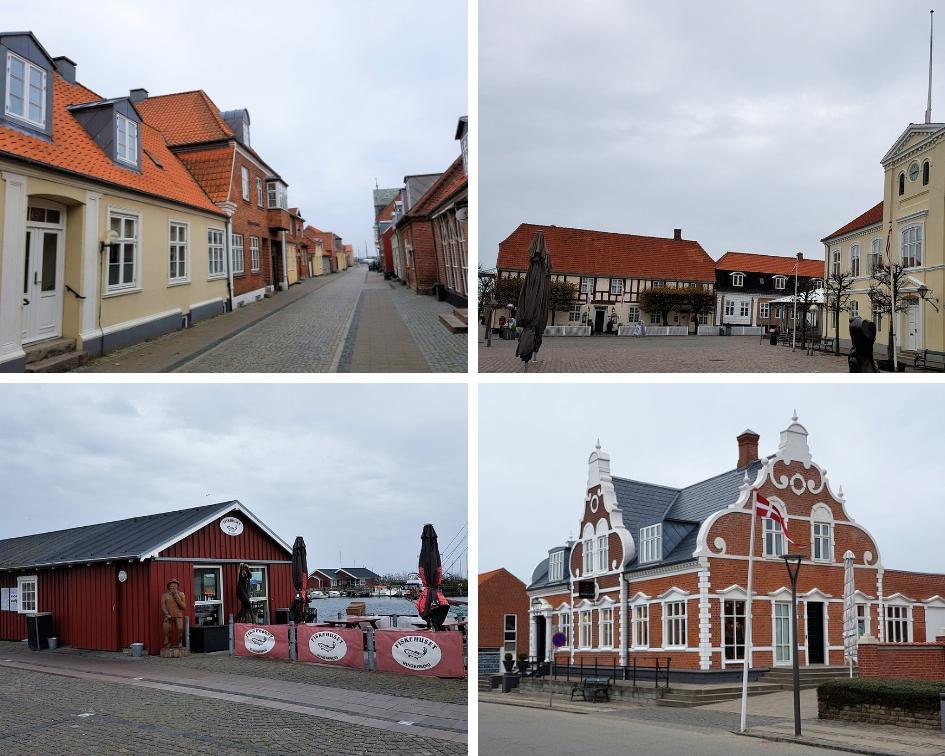 Ringkobing in Denemarken