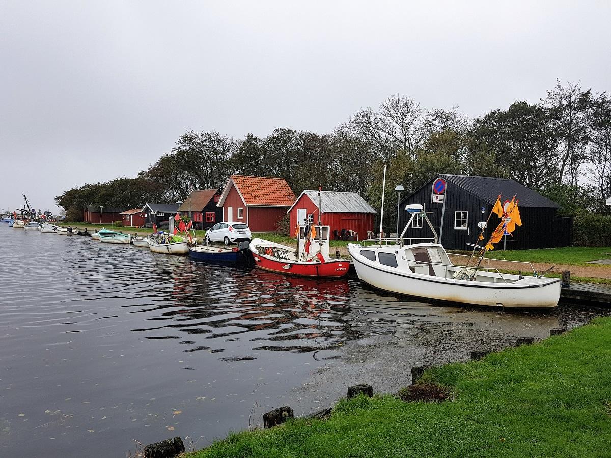 Stauning Havn in Denemarken
