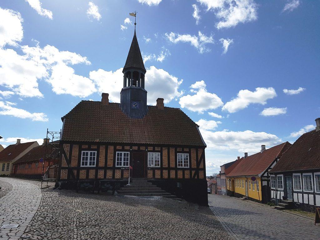 vakwerkhuizen in Ebeltoft